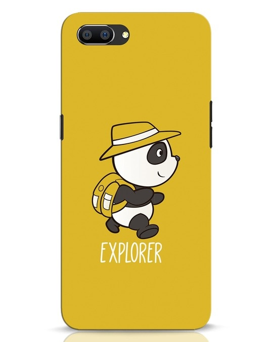 Shop Panda Explorer Realme C1 Mobile Cover-Front