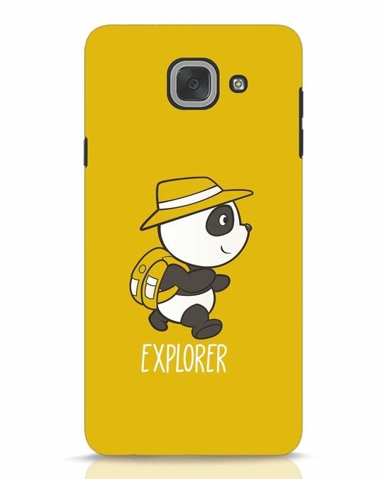 Shop Panda Explorer Samsung Galaxy J7 Max Mobile Cover-Front
