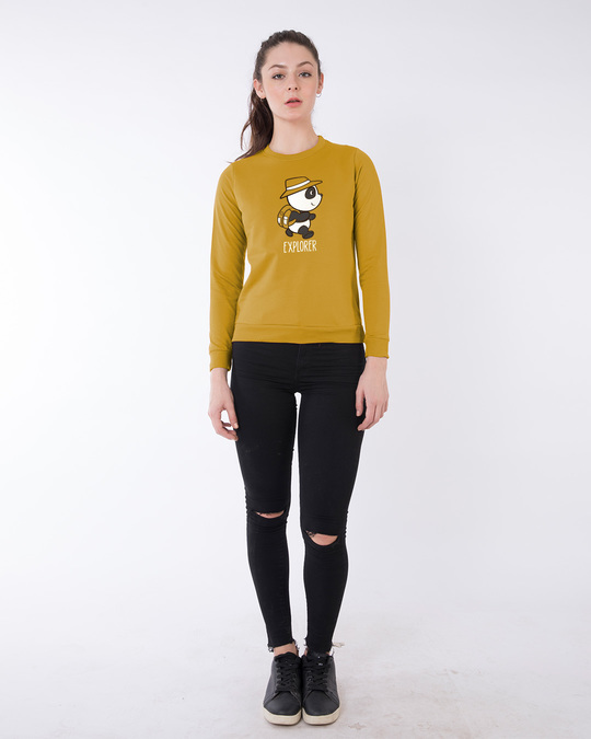 Shop Panda Explorer Sweatshirt-Design