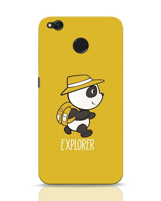 Shop Panda Explorer Xiaomi Redmi 4 Mobile Cover-Front
