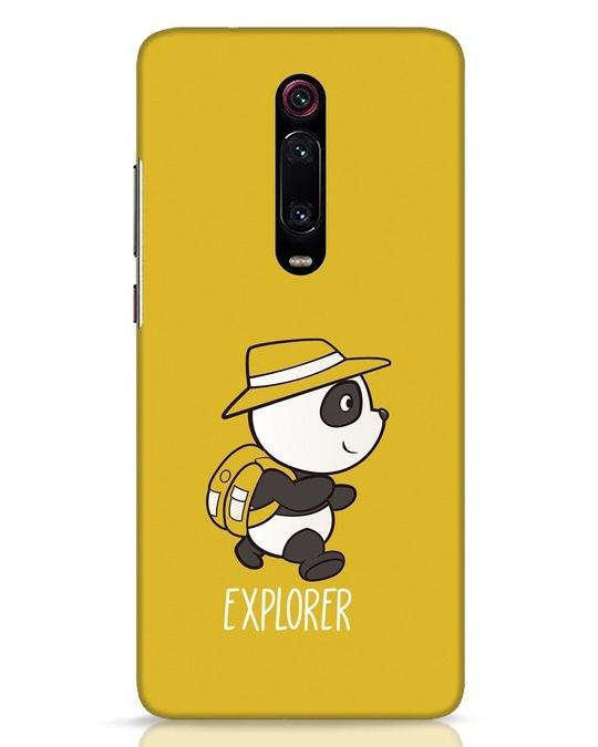 Shop Panda Explorer Xiaomi Redmi K20 Mobile Cover-Front