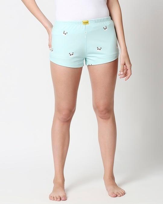 Shop Panda Fun AOP Shorts-Back