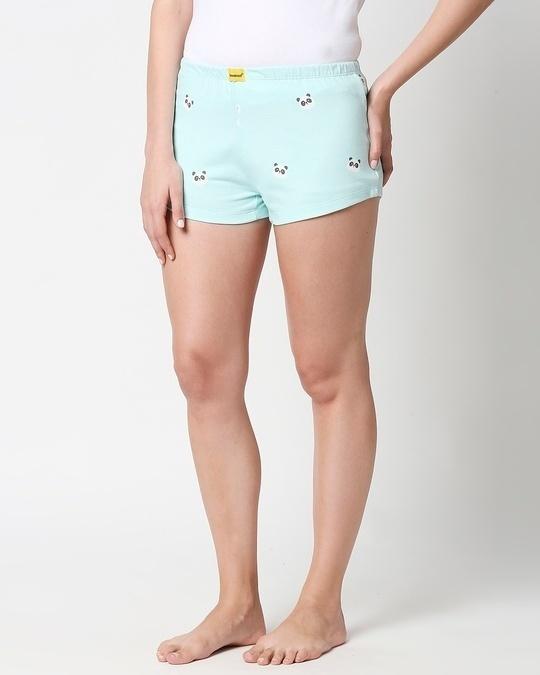 Shop Panda Fun AOP Shorts-Design