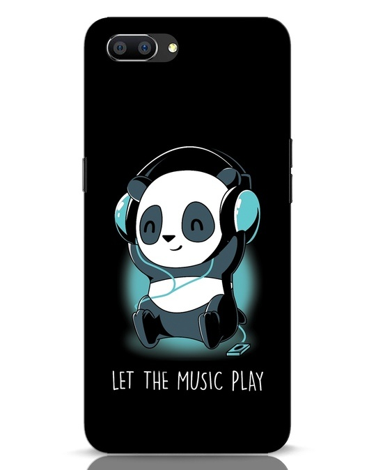 Shop Panda Headphones Realme C1 Mobile Cover-Front