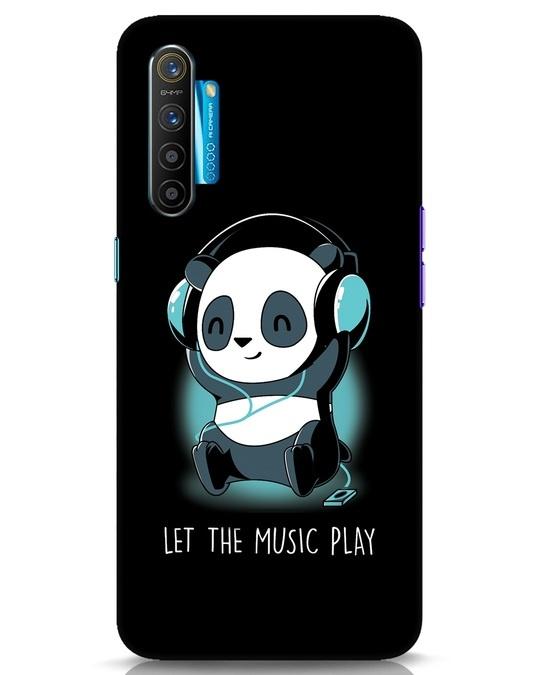 Shop Panda Headphones Realme XT Mobile Cover-Front