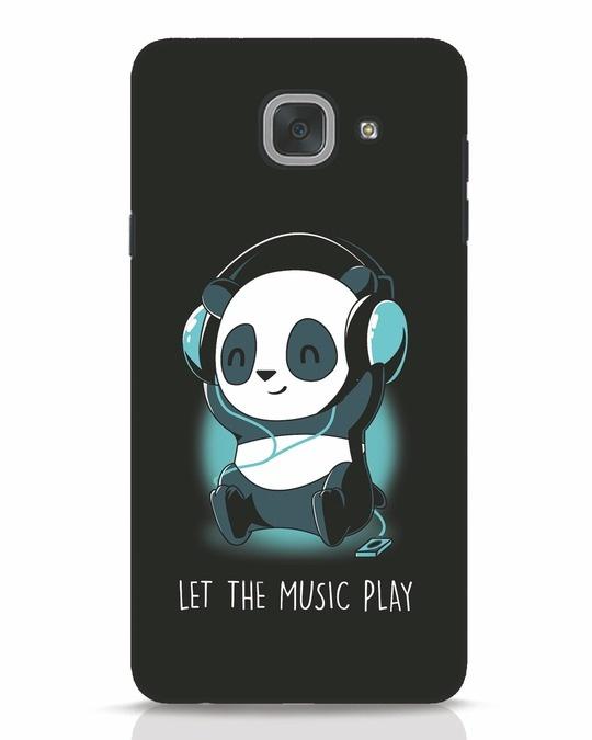 Shop Panda Headphones Samsung Galaxy J7 Max Mobile Cover-Front
