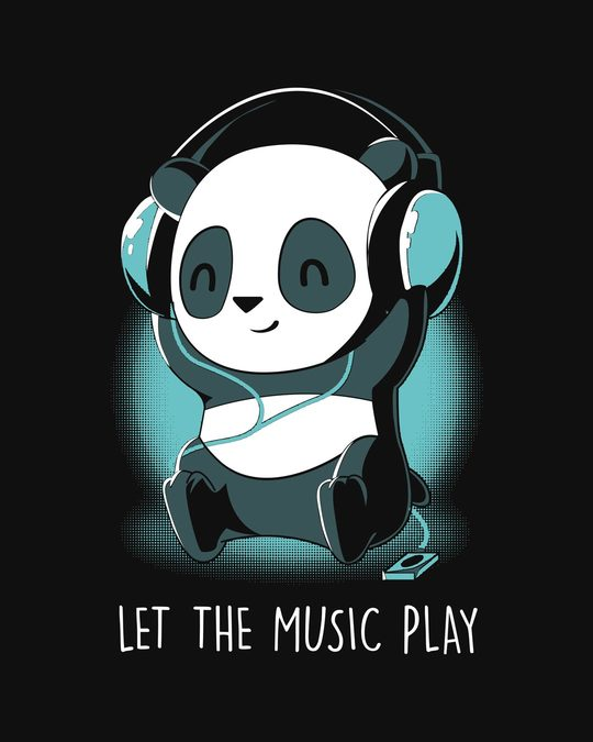 Shop Panda Headphones Light Sweatshirt