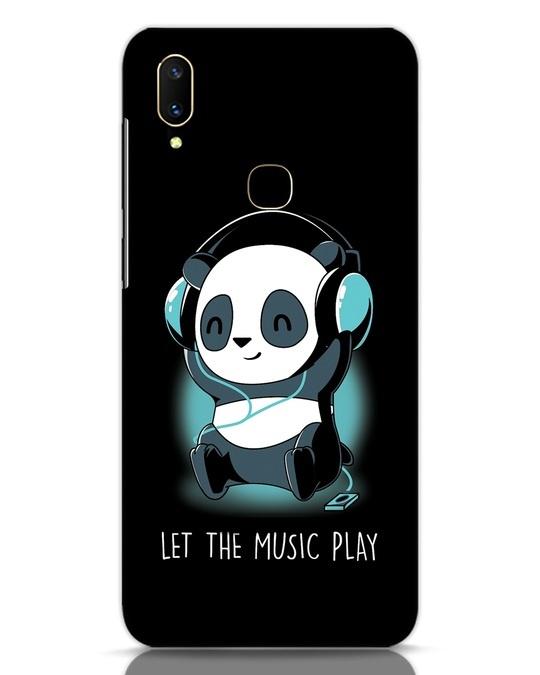 Shop Panda Headphones Vivo V11 Mobile Cover-Front