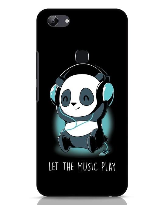 Shop Panda Headphones Vivo Y83 Mobile Cover-Front