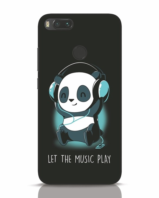 Shop Panda Headphones Xiaomi Mi A1 Mobile Cover-Front