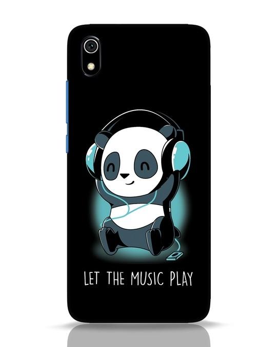 Shop Panda Headphones Xiaomi Redmi 7A Mobile Cover-Front