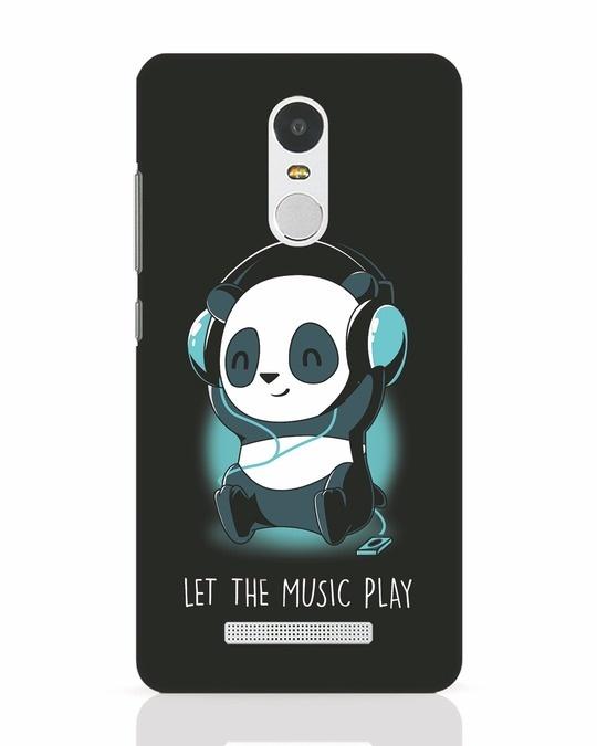 Shop Panda Headphones Xiaomi Redmi Note 3 Mobile Cover-Front