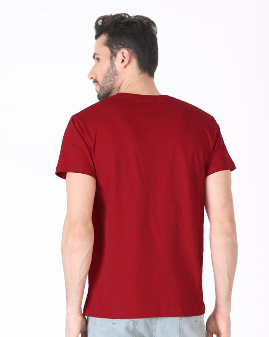 Shop Panda Ke Gym Bahane Half Sleeve T-Shirt-Back