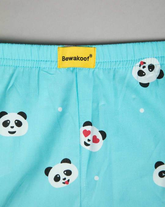 Shop Panda Moods All Over Printed Boxer