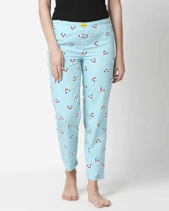 Shop Panda Moods All Over Printed Pyjama-Back