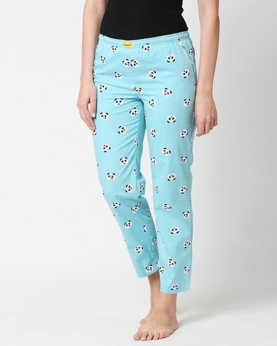 Shop Panda Moods All Over Printed Pyjama-Design