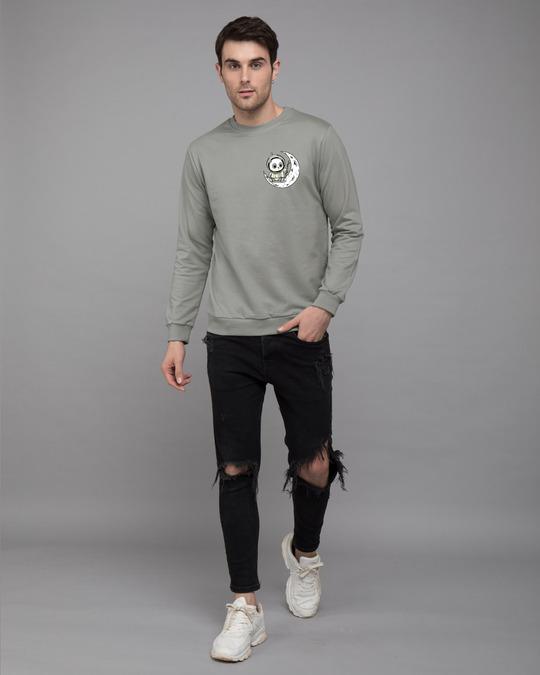 Shop Panda Moon Fleece Light Sweatshirt-Design