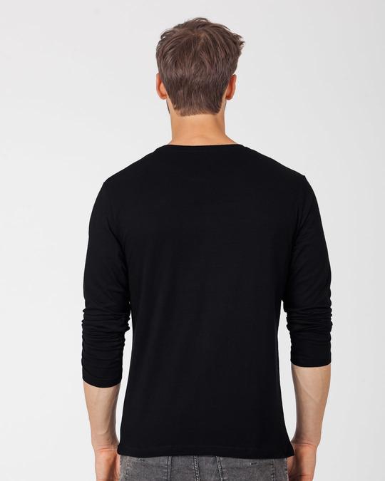 Shop Panda Not Today Full Sleeve T-Shirt-Design