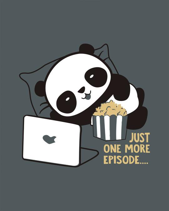 Shop Panda One More Episode Boyfriend T-Shirt