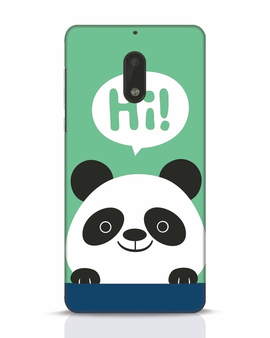 Shop Panda Says Hi Nokia 6 Mobile Cover-Front