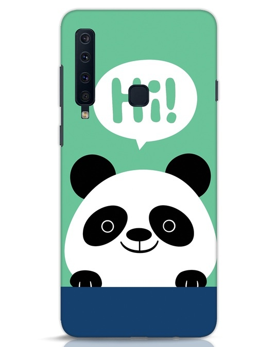 Shop Panda Says Hi Samsung Galaxy A9 2018 Mobile Cover-Front