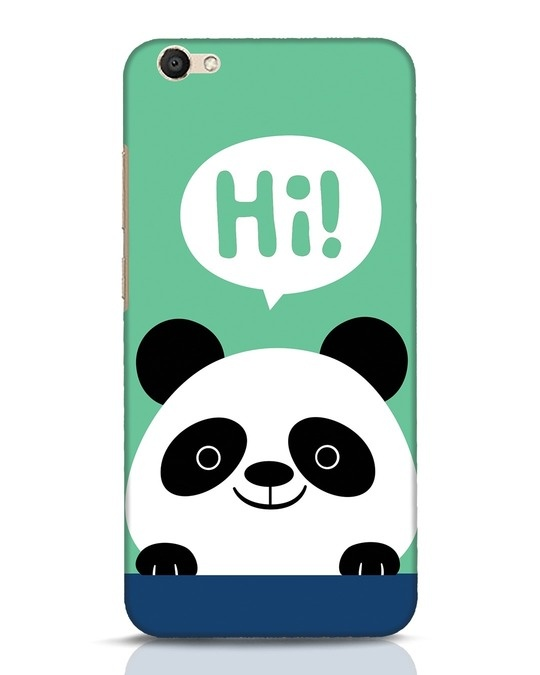 Shop Panda Says Hi Vivo V5 Mobile Cover-Front