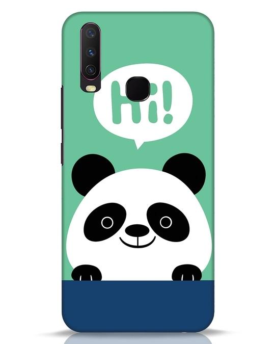Shop Panda Says Hi Vivo Y17 Mobile Cover-Front