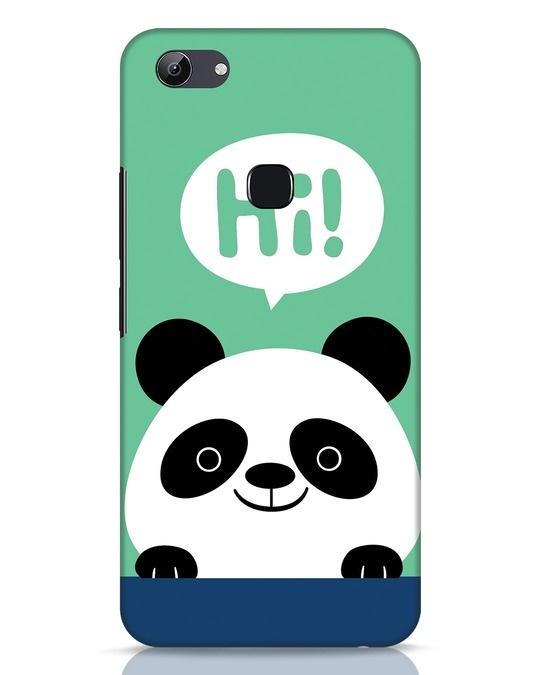 Shop Panda Says Hi Vivo Y83 Mobile Cover-Front