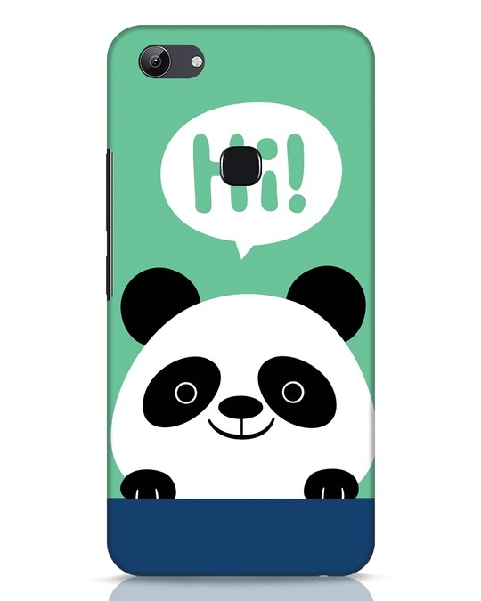Shop Panda Says Hi Vivo Y83 Mobile Cover-Front
