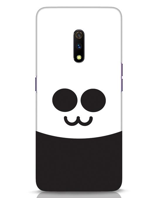 Shop Panda Smile Realme X Mobile Cover-Front