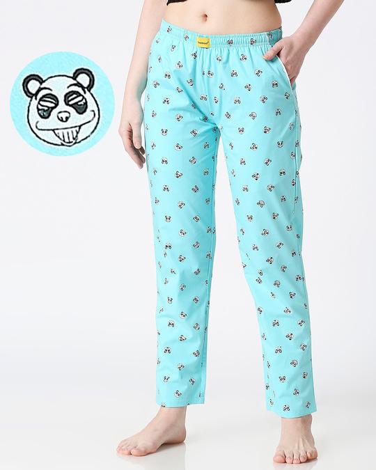 Shop Panda Women's Pyjama-Front