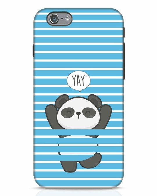 Shop Panda Yay iPhone 6s Mobile Cover-Front
