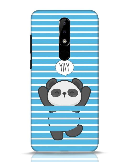 Shop Panda Yay Nokia 5.1 Plus Mobile Cover-Front