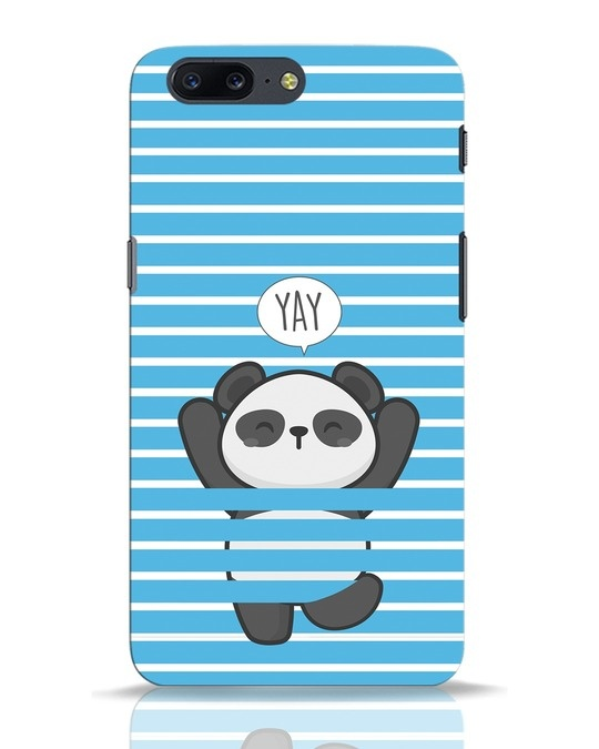 Shop Panda Yay OnePlus 5 Mobile Cover-Front