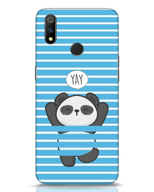 Shop Panda Yay Realme 3 Pro Mobile Cover-Front