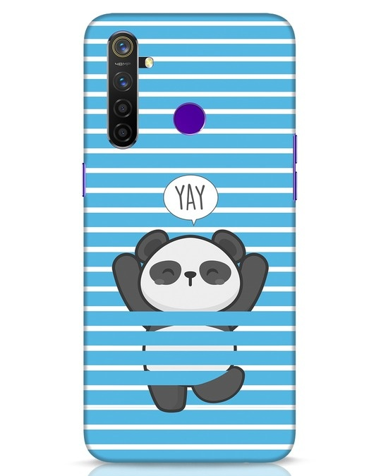 Shop Panda Yay Realme 5 Pro Mobile Cover-Front