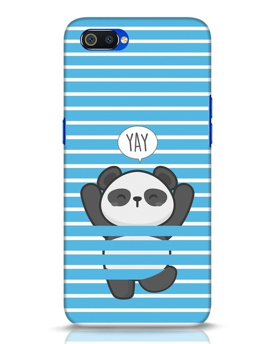 Shop Panda Yay Realme C2 Mobile Cover-Front