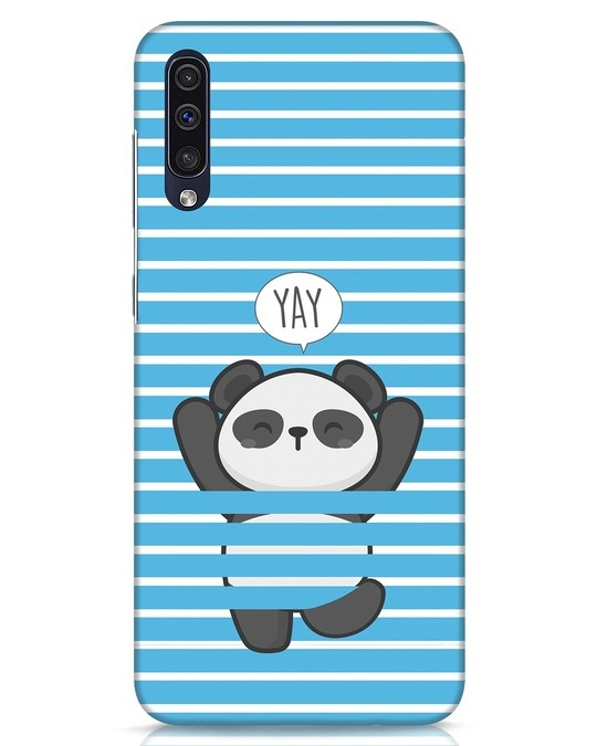 Shop Panda Yay Samsung Galaxy A50 Mobile Cover-Front