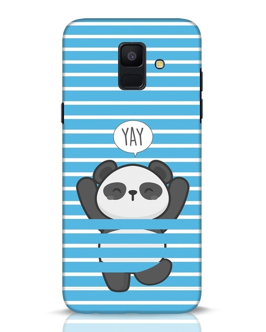 Shop Panda Yay Samsung Galaxy A6 2018 Mobile Cover-Front