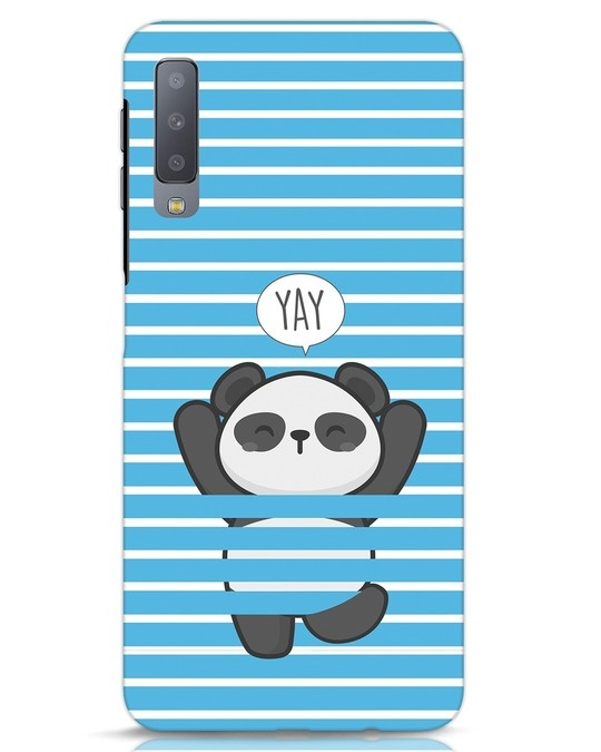 Shop Panda Yay Samsung Galaxy A7 Mobile Cover-Front