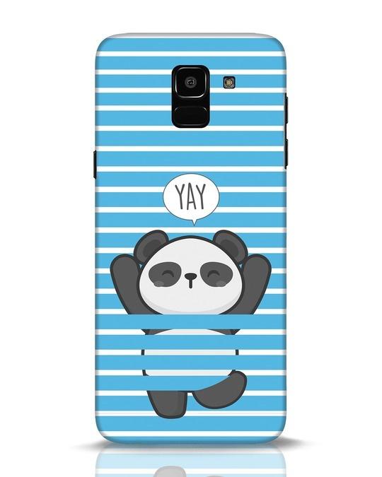 Shop Panda Yay Samsung Galaxy J6 Mobile Cover-Front