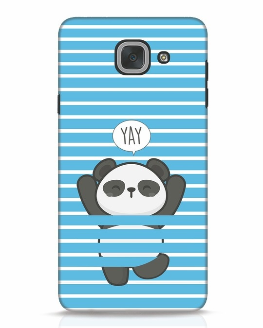 Shop Panda Yay Samsung Galaxy J7 Max Mobile Cover-Front