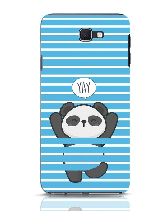 Shop Panda Yay Samsung Galaxy J7 Prime Mobile Cover-Front