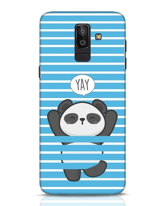 Shop Panda Yay Samsung Galaxy J8 Mobile Cover-Front