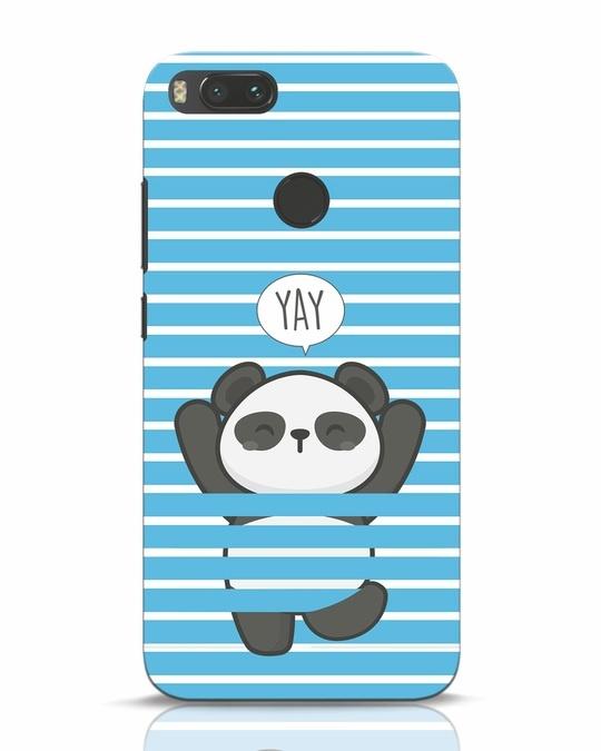 Shop Panda Yay Xiaomi Mi A1 Mobile Cover-Front