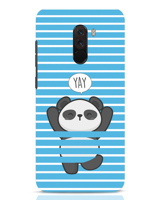 Shop Panda Yay Xiaomi POCO F1 Mobile Cover-Front