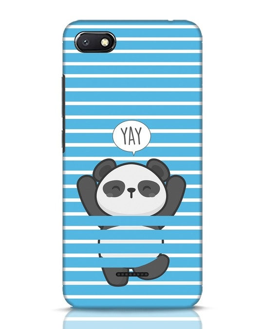 Shop Panda Yay Xiaomi Redmi 6A Mobile Cover-Front