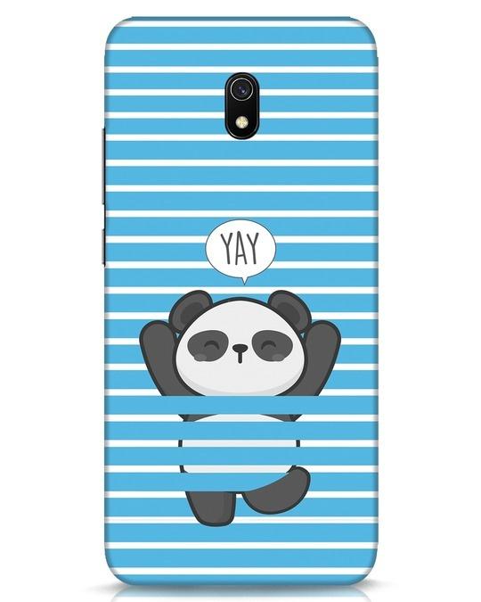 Shop Panda Yay Xiaomi Redmi 8A Mobile Cover-Front