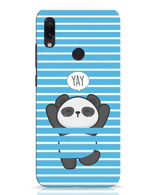 Shop Panda Yay Xiaomi Redmi Note 7 Pro Mobile Cover-Front