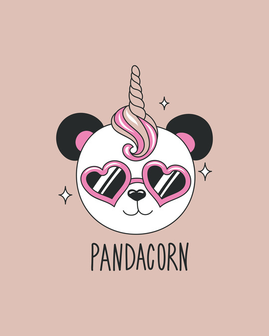 Shop Pandacorn Boyfriend T-Shirt